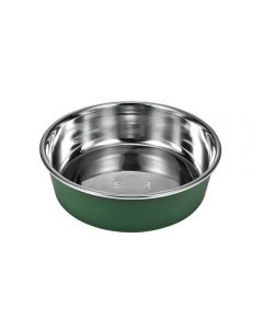 SUPER round dog bowl made of plastic (small)