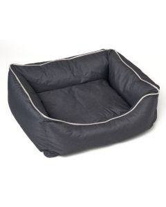 Dogs - cats cushion Bastiaan - Dark Grey - Size L
