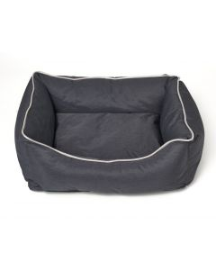 Dog-cat basket Bastiaan - Dark gray - Size M