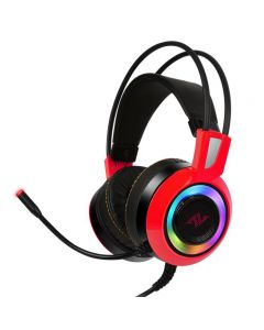 ABKONCORE CH60 REAL 7.1 Gaming Headset Rood